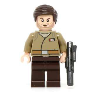 Lego Major Brance minifigure from Star Wars