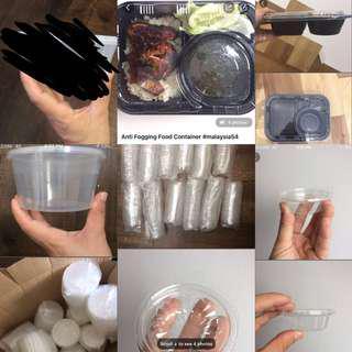 Plastic Food Container/Bekas plastik