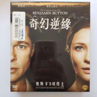 VCD Benjamin Button 奇幻逆緣