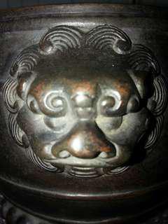 大明宣德款銅爐