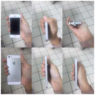 iPhone 5s Silver Ex Garansi iBox