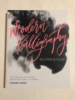 Modern Calligraphy Workshop Book by Imogen Owen
