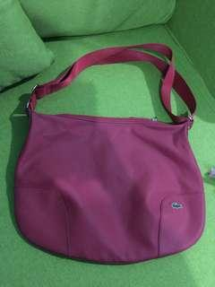 Authentic Lacoste Two Way Bag
