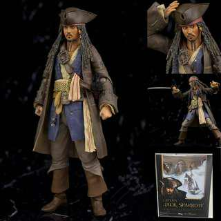 (Ready stok) Pirate of caribbean:Dead men tell no tales Jack Sparrow KO Action figure