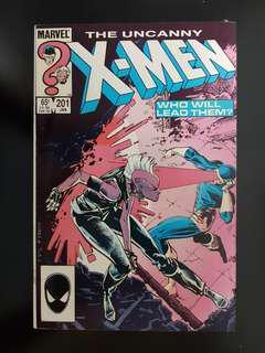 Uncanny X-Men (vol.1) #210: 1st Baby Cabke