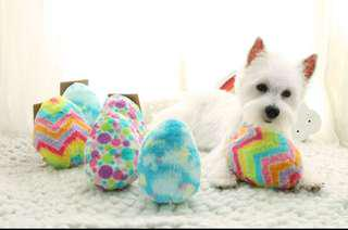 Dino Fluffy Egg Toys for Dog