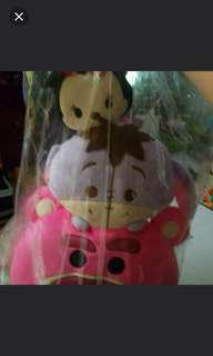 BNIP eeyore lotto Minnie plush