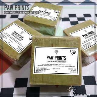 Paw Prints Pet Soap (Madre de Cacao)