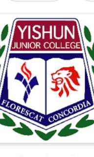 "WTB school badge (yishun jc) or other schools""  badges"