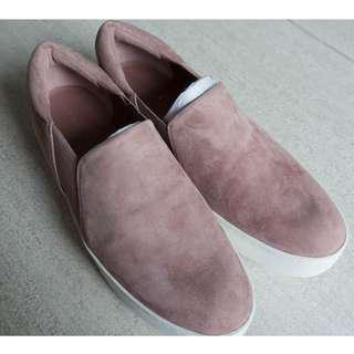 Vince Suede Rose Blush Shoes Brand New