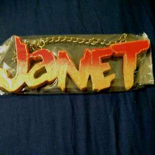 Name Sign - JANET