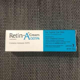 Retin-A cream 0.05%