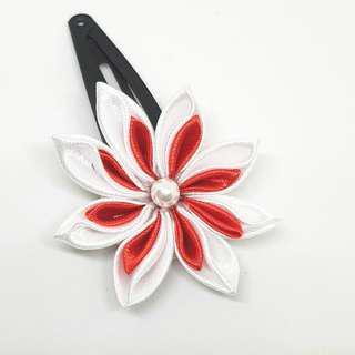 Handmade hair clip Kanzashi