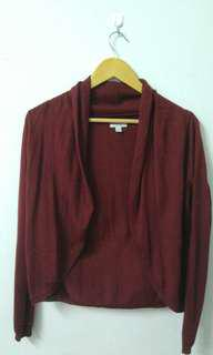Bossini Ladies Maroon Outer Wear #OCT10