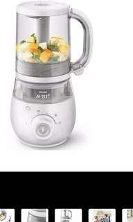 Avent 4 in 1 steamer blender