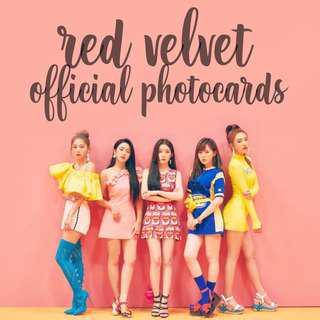 Red Velvet Official Photocards