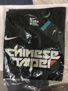 Nike Chinese Taipei T-Shirts /Black/台北T/M Size