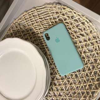 apple silicone marine green