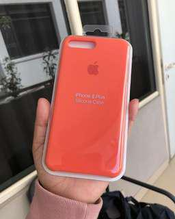 apple silicone orange