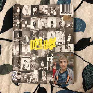EXO Growl (Chinese ver) + Luhan photocard