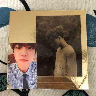 EXO Exodus (Korean ver) + Suho cover + Baekhyun photocard