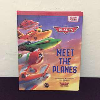 Disney Planes Book - Meet The Planes (English)