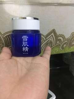 Kose sekkisei night cream