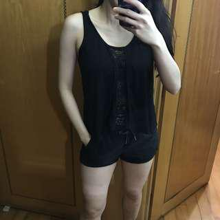 Australia JayJays black vest top