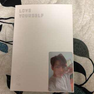BTS Love Yourself: Her (L version) + Jungkook photocard