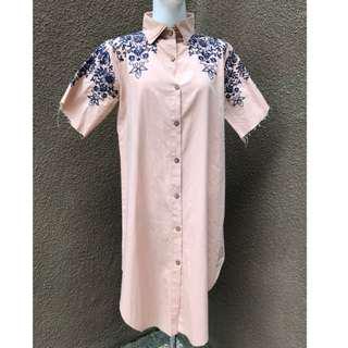 Oversized Woman Dress shirt