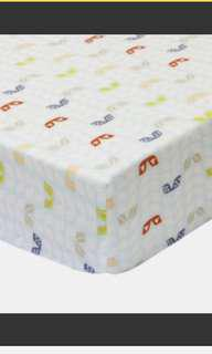 Little clouds cotton cot fitted sheet