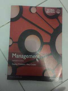 Management edisi 13 global by stephen p. Robbins & mary coulter