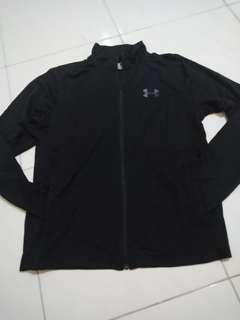 jaket fitnes under armour authentic
