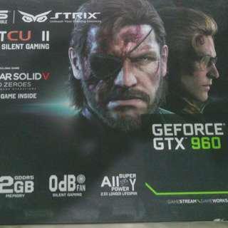 Asus Nvidia GTX 960 Strix OC 2gb
