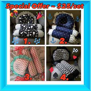 🚚 Great offer!! Hurry Grab the Pillows Set@$25