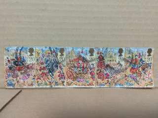Stamps: England 1989 Lord's Mayor Show