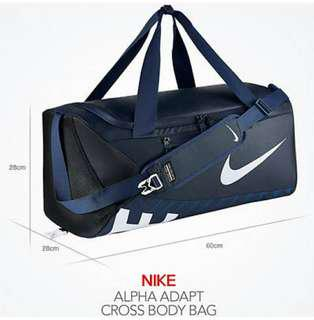 Nike Alpha Adapt Crossbody Duffel Bag(Medium)