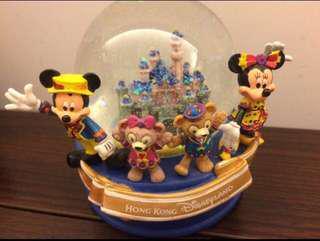 Disneyland crystal ball