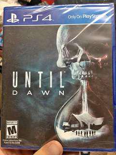 PS4: Until Dawn with Charging/Cooling Dock