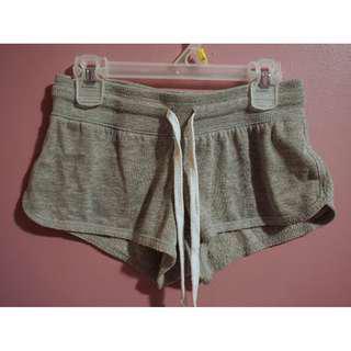 Grey Lounge Booty Shorts