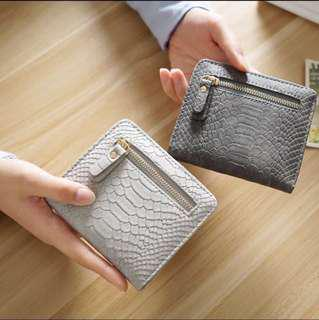 Thin Credit Card Holder Zipper Wallet
