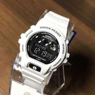 🚚 RARE ! Brand New Unisex Casio G-Shock Mini  White  GMN-691-7AJF   . .     GMN-691