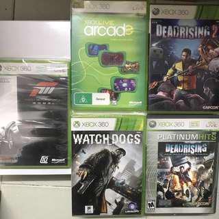 Xbox 360 Game 5隻