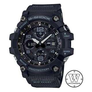 🚚 Authentic Casio G-Shock Tough Solar Master of G Series  Mudman  GSG-100-1A