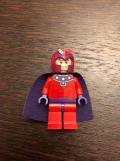 LEGO magneto minifigure wolverine's chopper showdown set 6866 marvel Disney x men