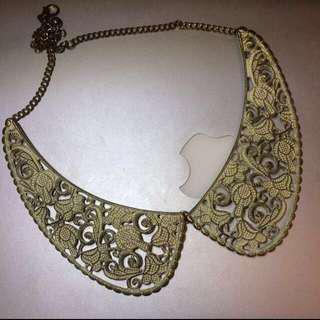 Lace necklace vintage