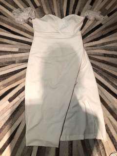 Angelic white dress