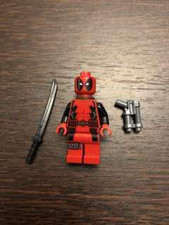 LEGO deadpool minifigure wolverine's chopper showdown set 6866 marvel Disney x men