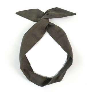 #Under9 BN Olive Wired Headband