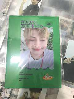wtt namjoon summer package guidebook